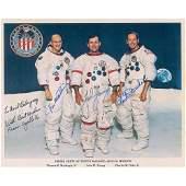 Apollo 16 Signed Photograph