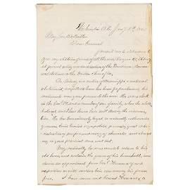 Clara Barton Autograph Letter Signed