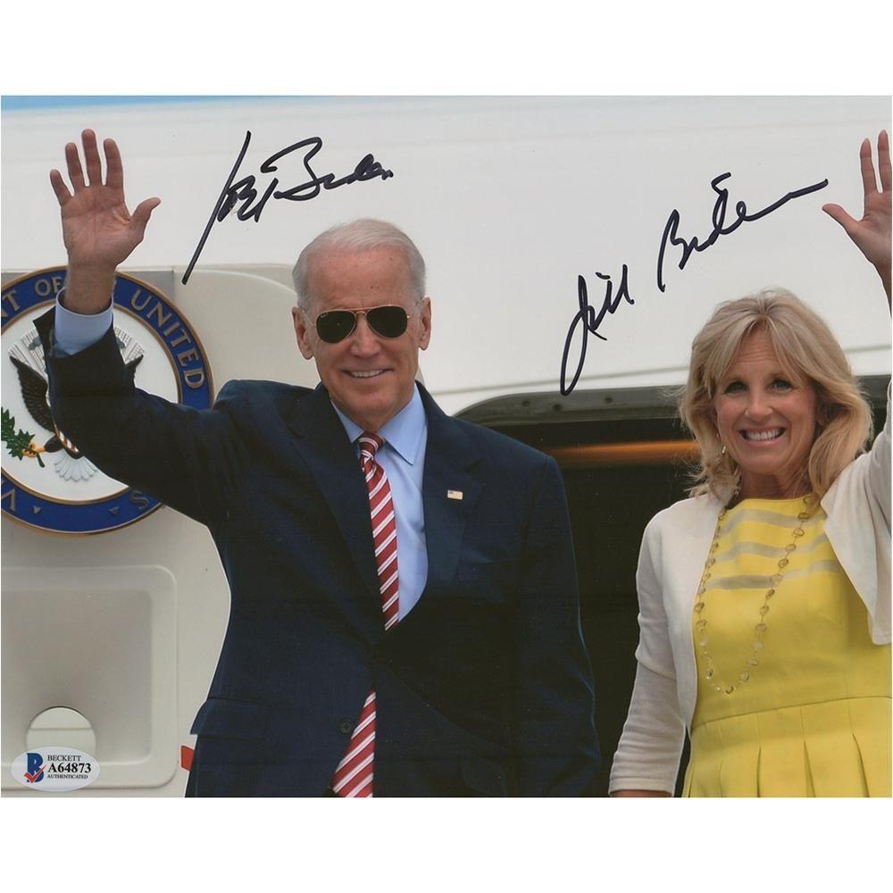 Joe and Jill Biden Signed Photograph