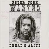 Peter Tosh Signed Album