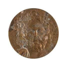 Athens 1896 Olympics Bronze Winner's Medal