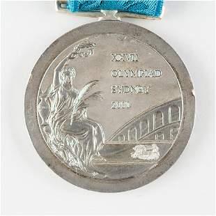 Sydney 2000 Summer Olympics Silver Winner's Medal