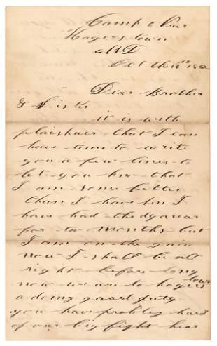 Civil War: Porter Morse (3rd Vermont Infantry) Archive