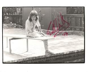 Eddie Van Halen Signed Photograph