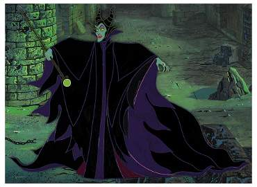 Eyvind Earle pan production background and production