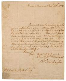 George Washington Autograph Letter Signed