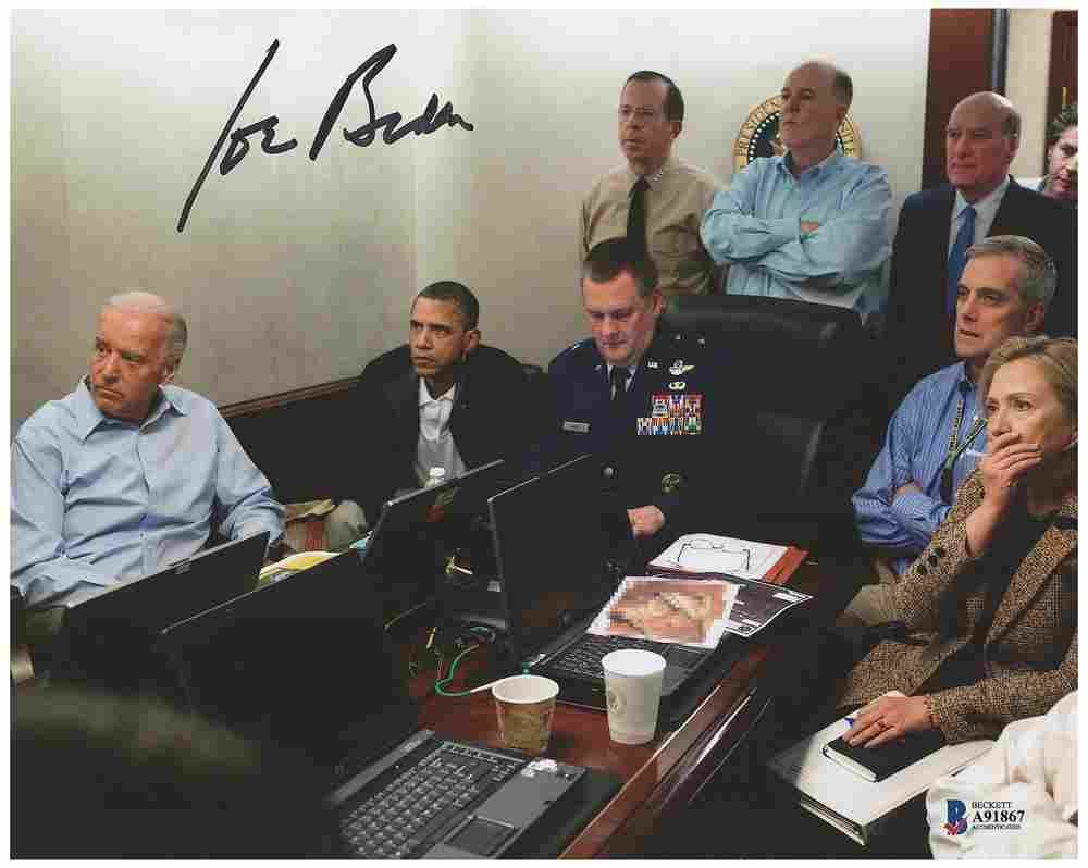 Joe Biden Signed Photograph