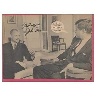 John Glenn Signed Photograph