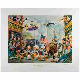 Carl Barks Signed Lithograph