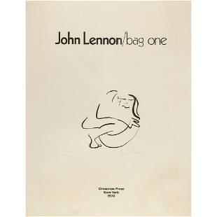 Beatles: John Lennon 'Bag One' Signed Lithograph