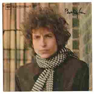 Bob Dylan Signed Album