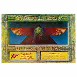 Grateful Dead 1978 Canceled Rainbow Theatre Promoter's