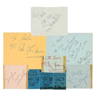 1960s Liverpool Music Autograph Book