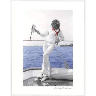 Rod Stewart Print by Richard E. Aaron