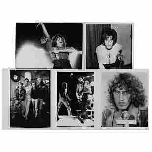 The Who (5) Original Photographs