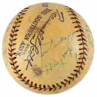 1938 NY Yankees Team-Signed Baseball