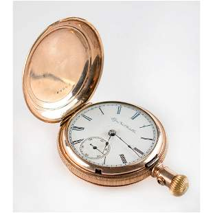 Ed Delahanty's 1887 Engraved Pocket Watch