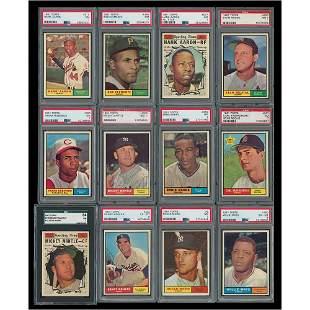 1961 Topps Baseball Complete Set (572)