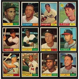 1961 Topps Baseball Partial Set (400/587)