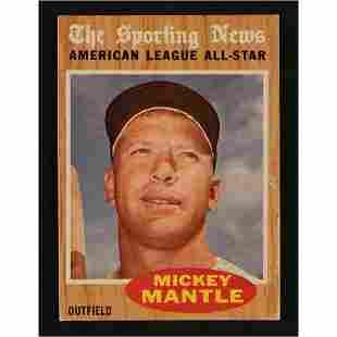 1962 Topps Baseball Card Collection (13,000+)