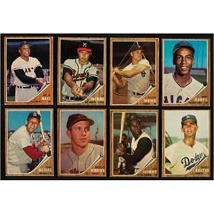 1962 Topps Baseball Card Lot of (375)