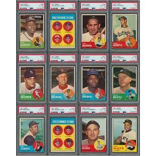 1963 Topps Baseball Complete Set (576)