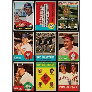 1963-1965 Topps Baseball Card Lot of (215)
