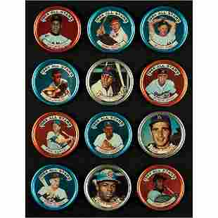 1964 Topps Coins Lot of (58) with Koufax, Killebrew,