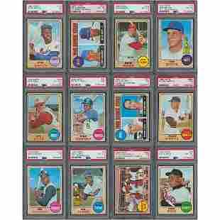 1968 Topps Baseball Complete Set (598)