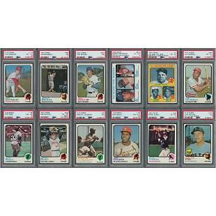 1973 Topps Baseball High-Grade Complete Set (660)