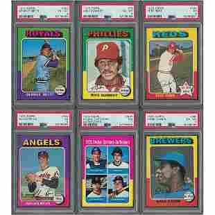1975 Topps Baseball Complete Set (660)