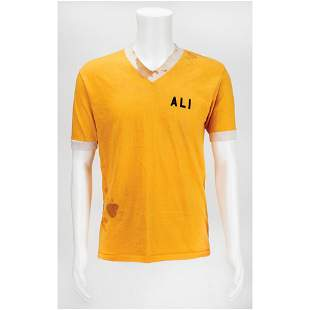 Muhammad Ali Training Worn Shirt Training Shirt