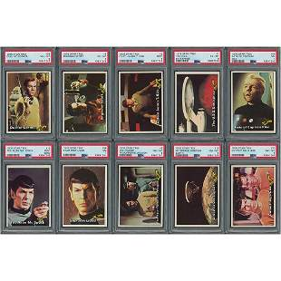 1976 Topps Star Trek High-Grade Complete Set (88) with