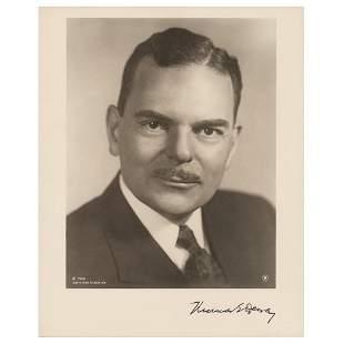 Thomas Dewey Signed Photograph