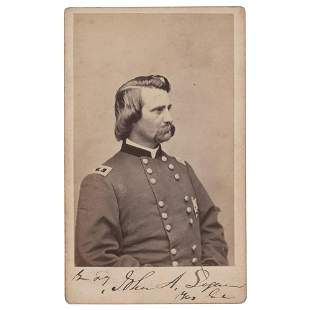 John A. Logan Signed Photograph