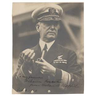 William A. Moffett Signed Photograph