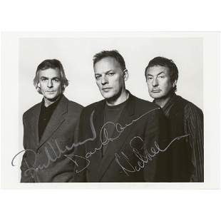 Pink Floyd Signed Photograph