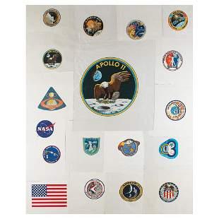 Apollo-era Lot of (18) Beta Patches