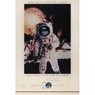 Apollo 11 Signed Poster