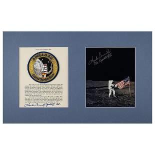 Charles Conrad's Apollo 12 Flown/Lunar Landed Mission