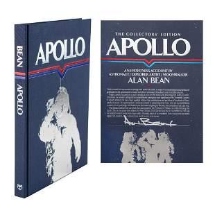 Alan Bean Signed Book
