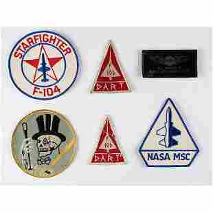 Al Worden's Collection of USAF and NASA Patches