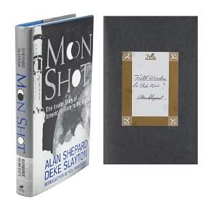 Al Worden's Alan Shepard Signed Book