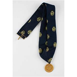 Al Worden's Apollo 15 City of New York Gold Medal