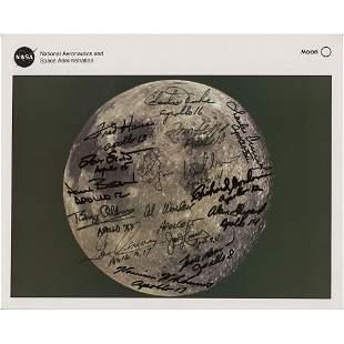 Apollo Astronauts (15) Signed Photograph