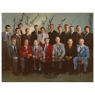 Apollo-Soyuz (16) Crew Member Signed Photograph
