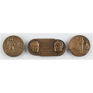 Russian Space Table Medals