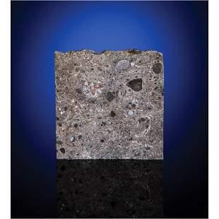 Tisserlitine 001 Lunar Meteorite Slice