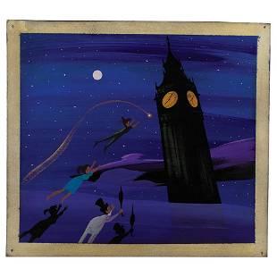 Mary Blair original concept painting of Peter Pan,