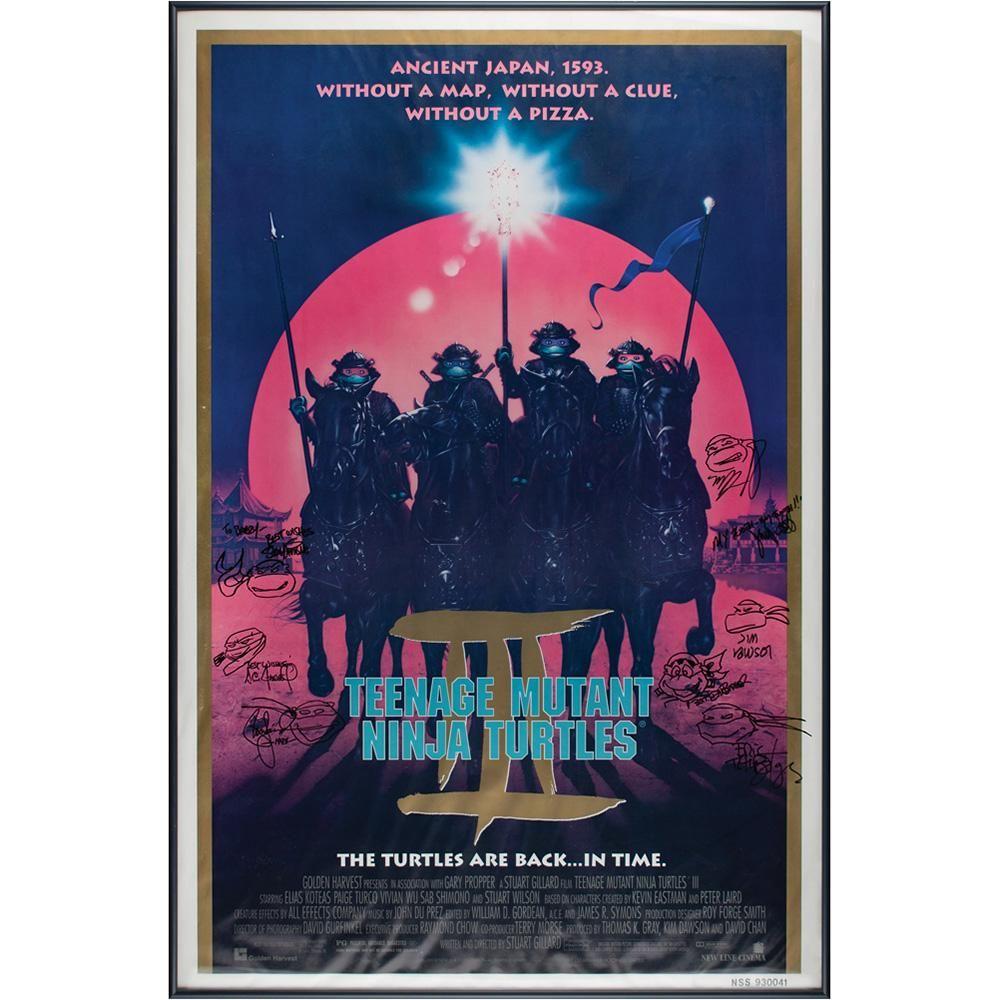 Teenage Mutant Ninja Turtles Artist (8) Signed Movie